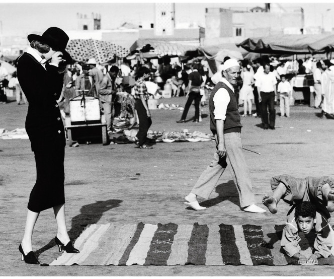 at-the-marrakech-market-in-1992-grace-coddington-and-photographer-ellen-von-unwerth-styled-nadja-auermann-as-marlene-dietrich-in-morocco-photographed-by-ellen-von-unwerth-vogue-1992